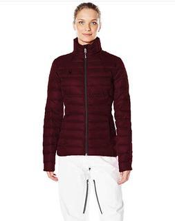 Spyder Women's Prymo Down Ski Authentic Jacket Burgundy | Me