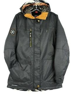 686 Women's Spirit Insulated Ski Jacket L8W308 Black Herring