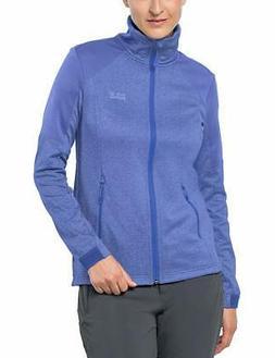Jack Wolfskin Women's Sutherland Jacket, Large, Baja Blue