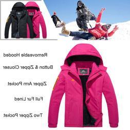 women s waterproof ski jacket fleece lined