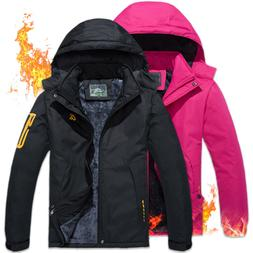 Women's Waterproof Ski Jacket Fleece Lined Super Warm Snow O