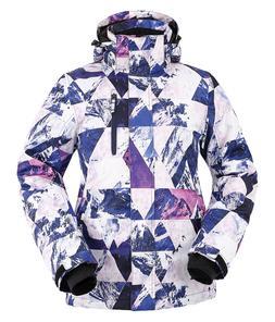 Women Winter Ski Snow Warm Windproof Outdoor Sports Jacket H