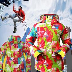 Women Waterproof Windproof Ski Snowboard Coat Jacket Winter
