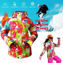 Women Winter Ski Snowboard Jacket Coat Waterproof Warm Hikin
