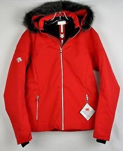 Descente Womens Charlotte Ski Snow Jacket DWM-MGK23 Electric