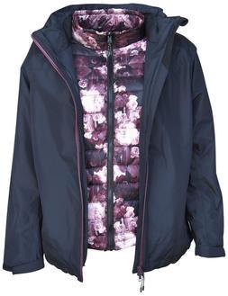 Pulse Womens Plus Size 3in1 Swiss Snow Ski Jacket 1X 2X 3X 4