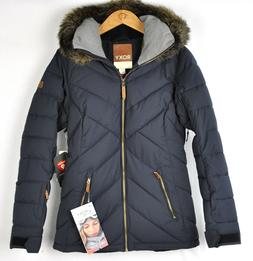Roxy Womens Quinn Ski Snow Jacket ERJTJ03165 True Black Size