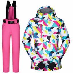 Women's Ski Jackets & Pants Winter Waterproof & Windproof