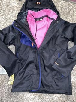 Under Armour Youth Medium 2 In 1 Winter Coat Ski Jacket New