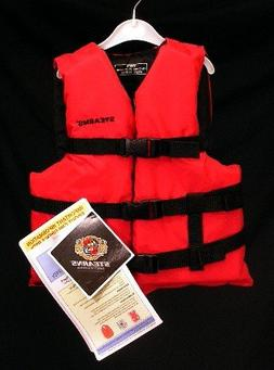 Stearns Youth Red PFD Vest